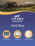 US History Gr. 4-5 Civil War Resource Pack