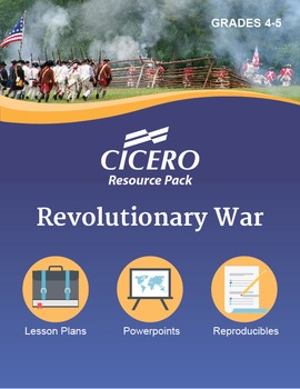 US History Gr. 4-5 Revolutionary War Resource Pack