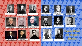 U.S. History Guess Who Review