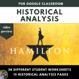 "US History: ""Hamilton"" Lyric and Historical Analysis Project"