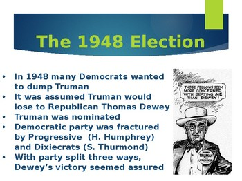 Harry Truman and The Cold War