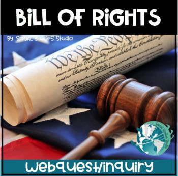 US History High School: Bill of Rights (Webquest)