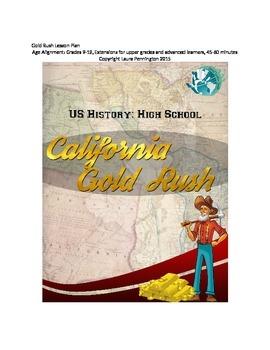 US History Lesson Plan: California Gold Rush