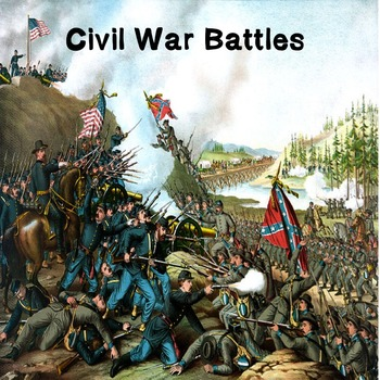 US History High School: Civil War Battles (Webquest)