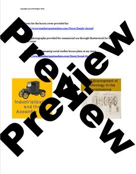 US History High School: Transportation During the Industrial Revolution