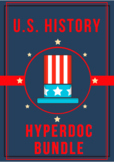 US History Hyperdoc Bundle: Colonies, Explorers, Government, & Boston Tea Party