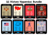 US History Hyperdoc Bundle: Digital Interactive Activities