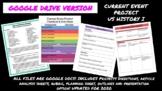 US History I Current Event Project- GOOGLE DOCS