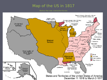 """US History I - Early Years - Chapter 5 """"Growth & Division in the United States"""""""