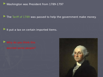 """US History I - Early Years - Chapter 4 """"Federalists & Repu"""
