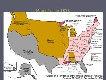 """US History I - Early Years - Chapter 7 """" Manifest Destiny & Texas Independence"""""""