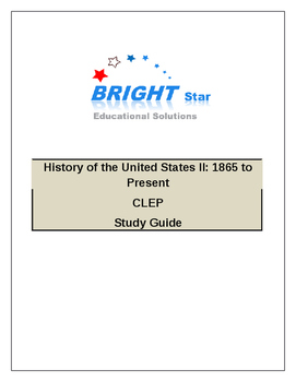 US History II (CLEP College Level Examination Program) Test Preperation