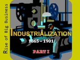 US History II:  Rise of Industry PowerPoint (Aligned to VA SOLs)