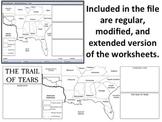 The Trail of Tears - Homework