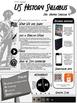 US History Infographic Syllabus