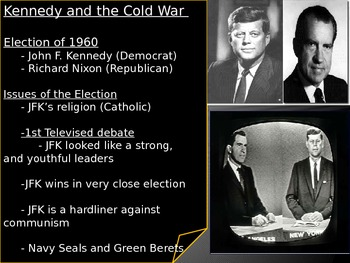 US History Kennedy and the Cold War