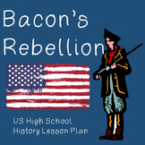 US History Lesson Plan: Bacon's Rebellion