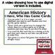US History Turn of Century & Progressives Game Cards (26 I