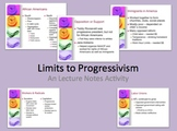 U.S. History Limits to Progressivism in America PPt Lecture Notes