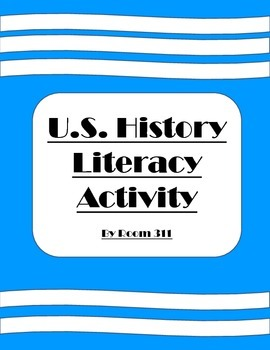 U.S. History Literacy Activity