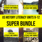 US History Literacy Super Bundle (3/5): Units 9-12 (Gilded