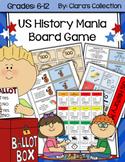 US History Mania Board Game