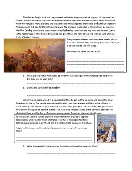 US History: Manifest Destiny