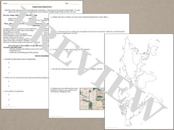 US History Map Bundle