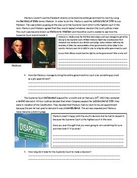 US History: Marbury vs. Madison