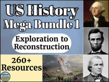 US History Mega Bundle 1