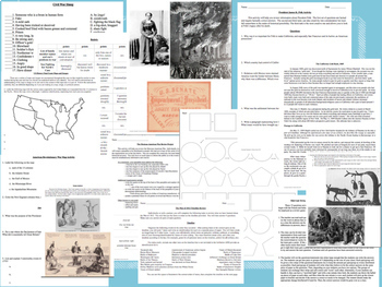 US History Mega Bundle 1