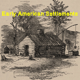 US History Middle School: Early American Settlements