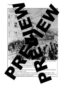 US History Lesson Plan: Tea Act and Boston Tea Party