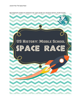US History Middle School Lesson Plan: The Space Race
