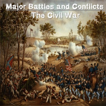 US History Middle School: Major Battles and Conflicts During the Civil War