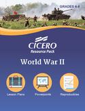 US History Middle School WW II Resource Pack