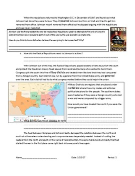 US History: Military Districts