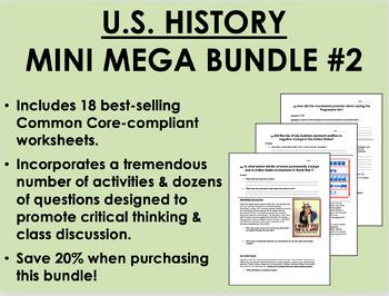US History Mini Mega Bundle #2 - Common Core