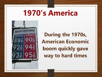 Modern America Economic Crisis of the 1970's PowerPoint (U.S. History)