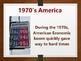 Modern America Economic Crisis of the 1970's PowerPoint (U