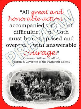 US History Motivation Posters (Classroom Decor)- Colonization