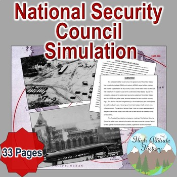 National Security Council Simulation / Cuban Missile Crisis (U.S. History)