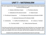 U.S. History - Nationalism Unit - Clay, Sectionalism & Jacksonian Democracy