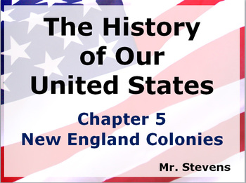 US History - New England Colonies