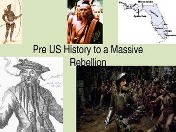 U.S. History North American Pre-History to the Start of the Revolution