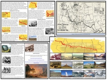U.S. History - Western Expansion - The Oregon Trail