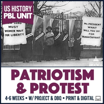 US History PBL: 1900s Protest Movements Unit