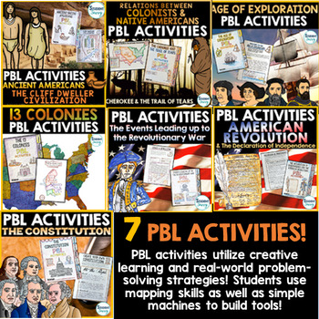 US History PBL Activities | United States Project Based Learning