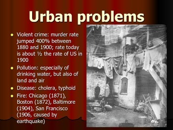 Industrialization Unit Notes, PowerPoints, & Vocabulary