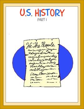 U.S. History Part 1 Thematic Unit
